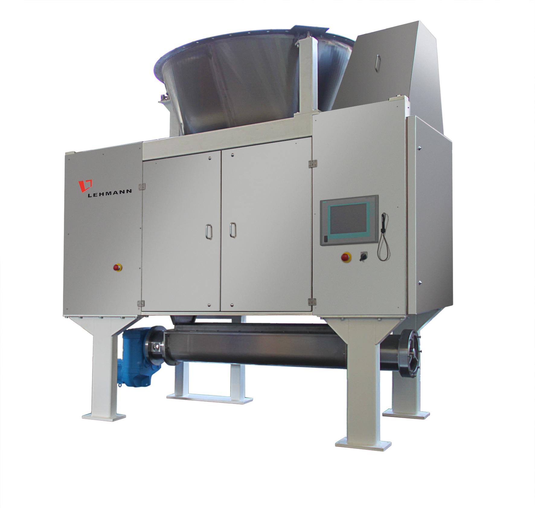 Двухвалковая машина для предварительного тонкого измельчения шоколадной массы