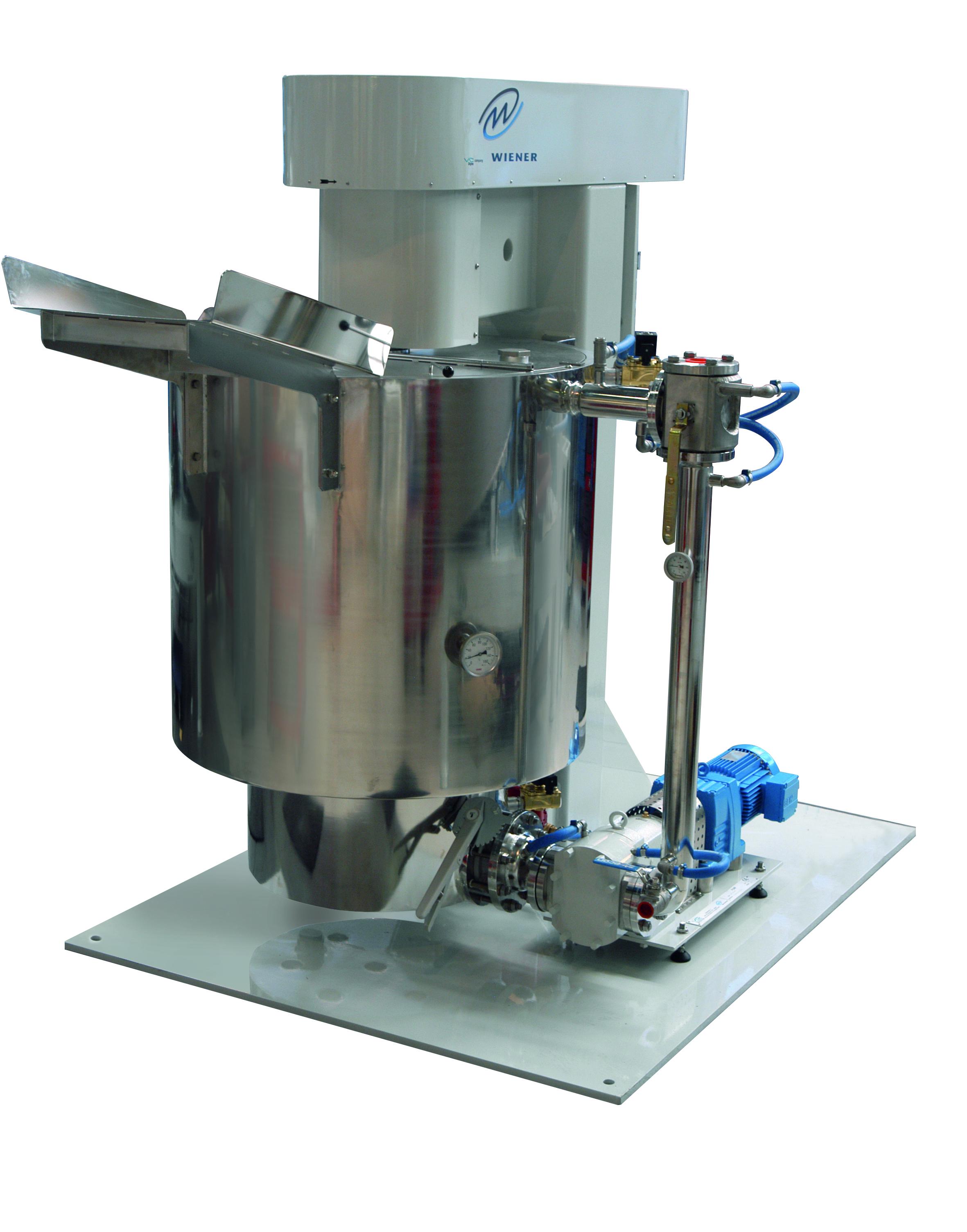 Смеситель и установка для тонкого измельчения шоколадной смеси