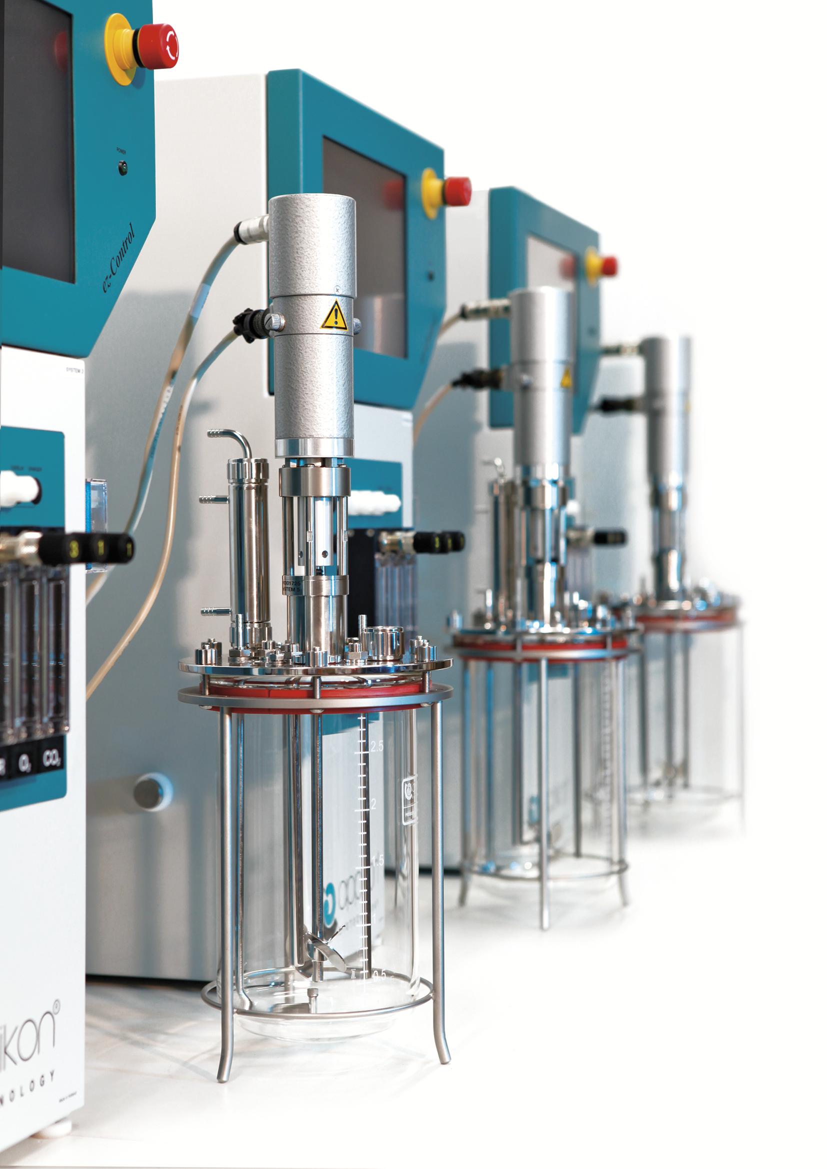 Автоклавируемый стеклянный биореактор