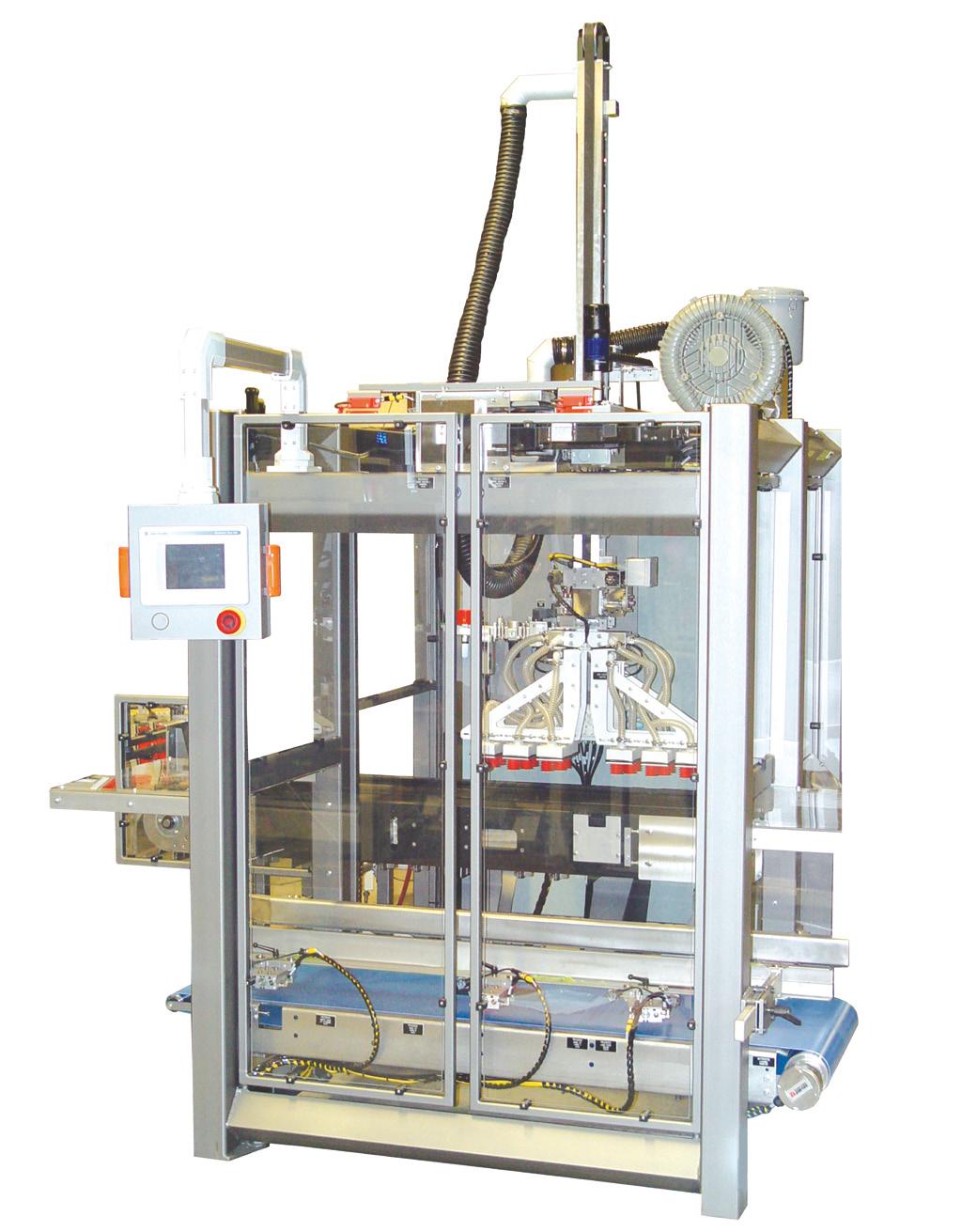 Роботизированная машина для горизонтальной упаковки в коробку