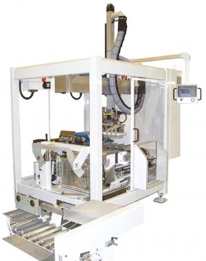 Роботизированная машина для вертикальной упаковки в коробку