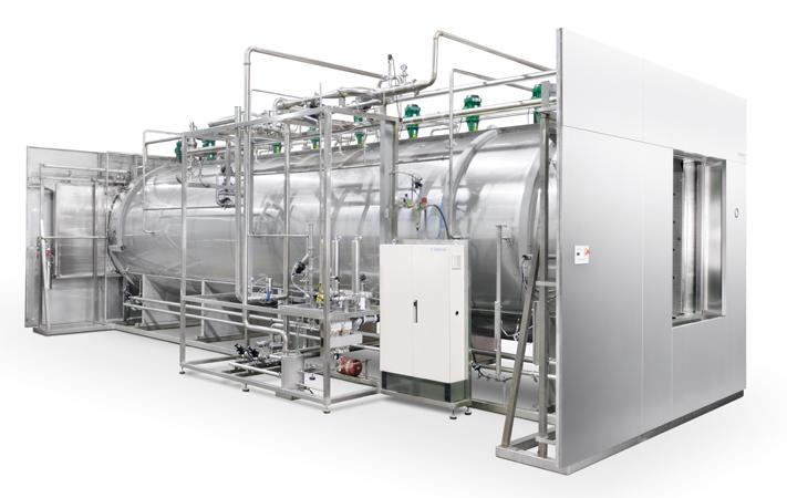 Автоклав для стерилизации паровоздушной смесью