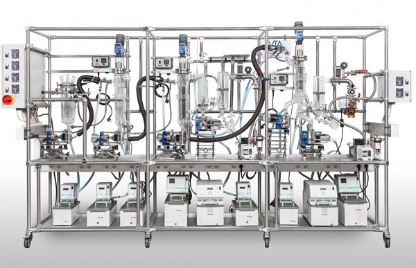 Лабораторный многоступенчатый дистиллятор