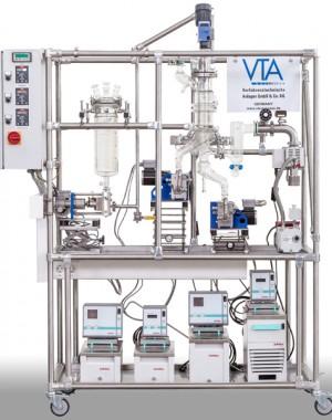 Лабораторный молекулярный дистиллятор