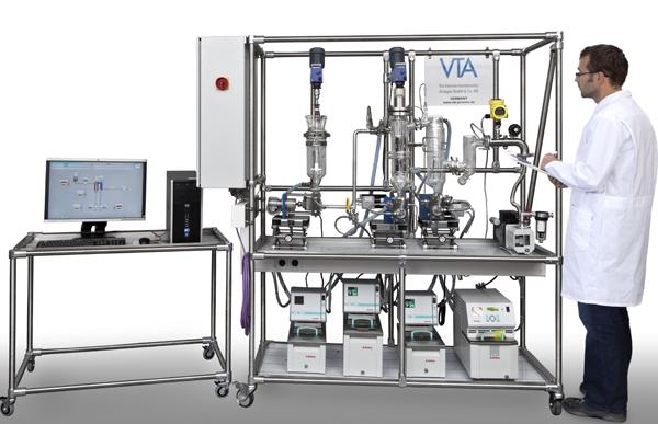 Лабораторный тонкопленочный дистиллятор