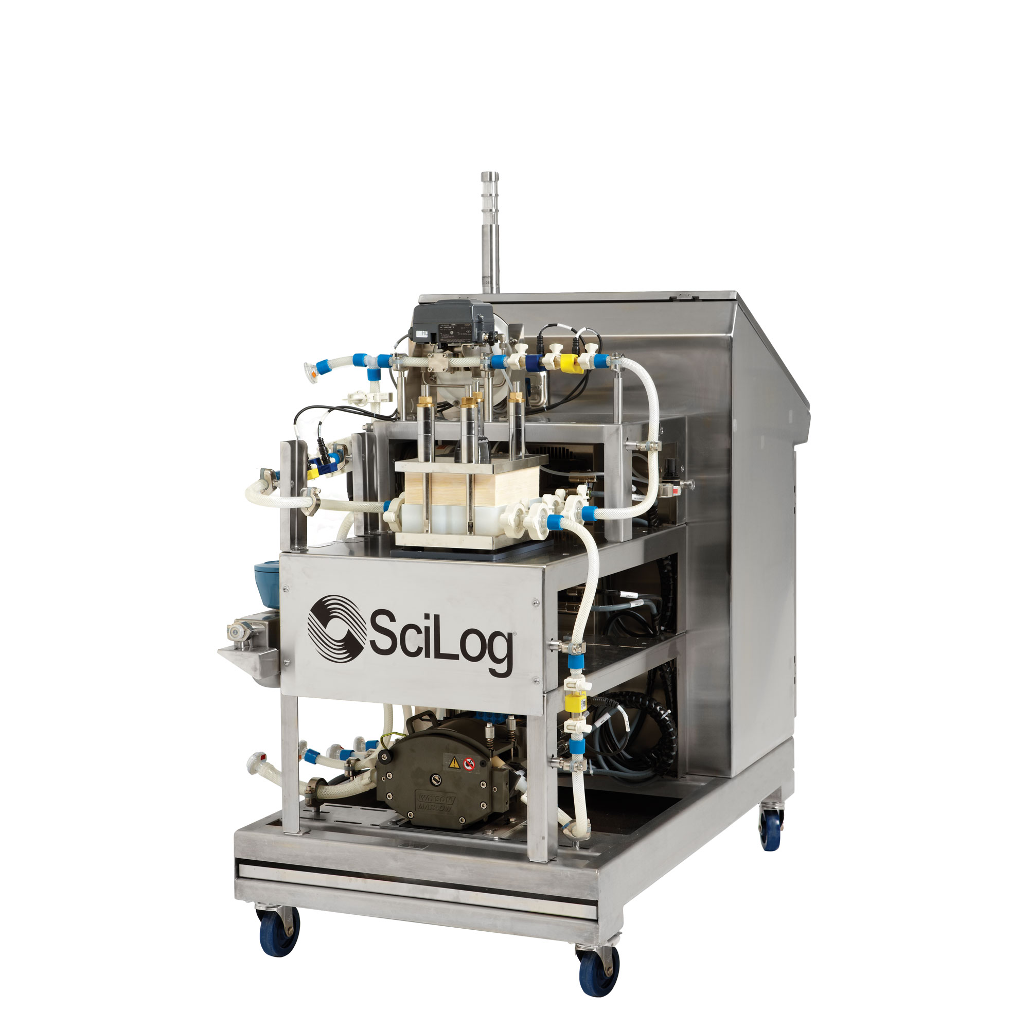 Автоматическая система фильтрации при тангенциальном потоке