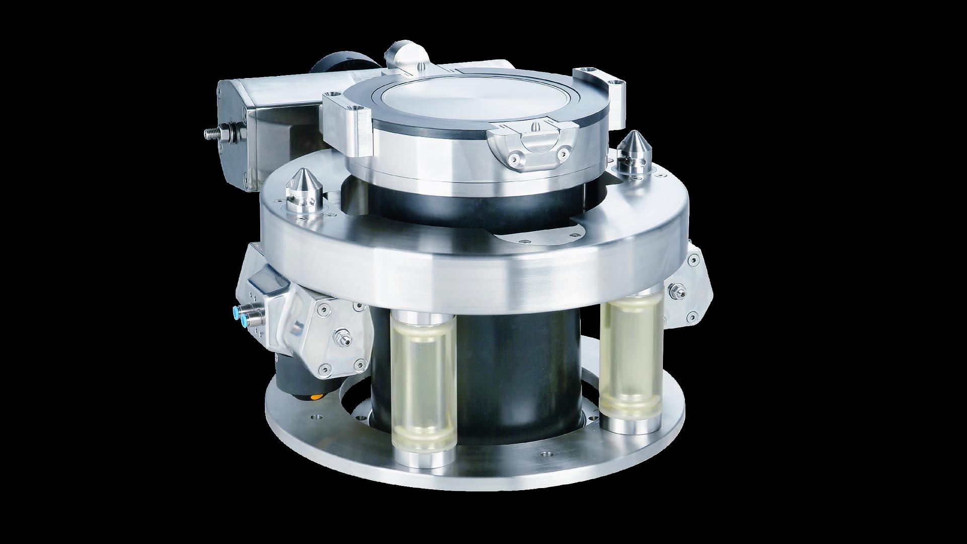 Двустворчатый клапан с высоким уровнем защиты
