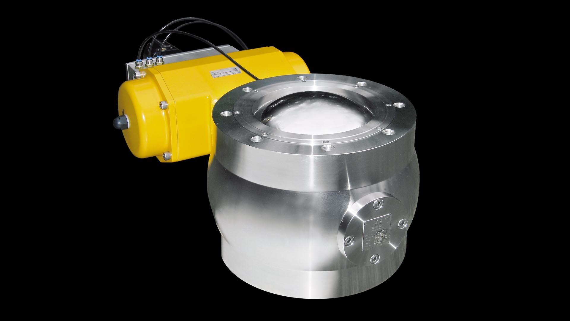 Шаровой клапан с высоким уровнем защиты