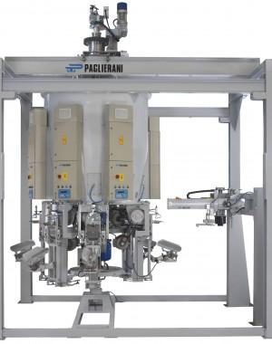 Вращающаяся наполняющая установка для клапанных мешков