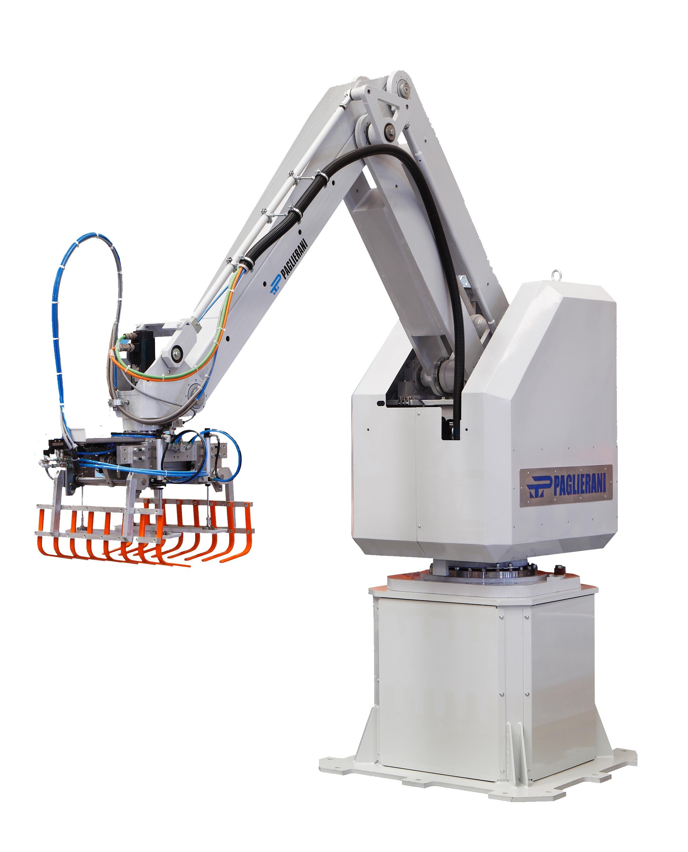 Робот-паллетайзер для пачек мешков и коробок