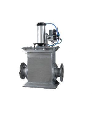 Двухходовые распределительные клапаны для конвейерного пневмотранспорта