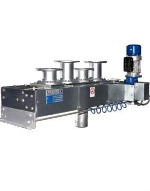 Многоходовой распределительный клапан для конвейерного пневмотранспорта