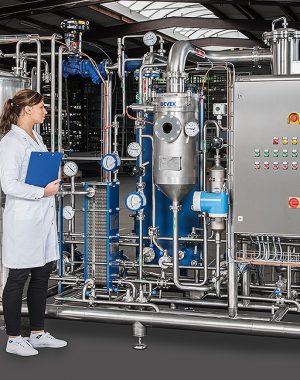 Лабораторная выпарная установка для извлечения экстрактов