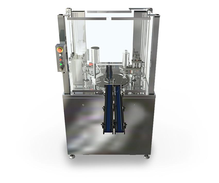 Полуавтоматическая разливочная машина лака для ногтей