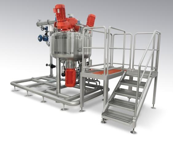 Система смешивания и приготовления для кондитерского производства