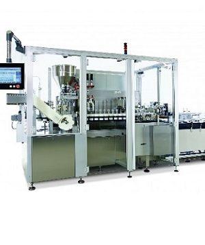Среднескоростная машина для наполнения и запечатывания туб