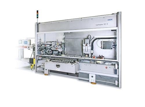 Высокопроизводительная горизонтальная упаковочная машина для фармацевтического и косметического производства