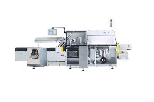 Горизонтальная упаковочная машина для фармацевтического и косметического производства