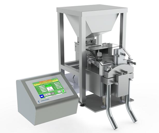 Настольная машина для сортировки таблеток и капсул с разделением по массе