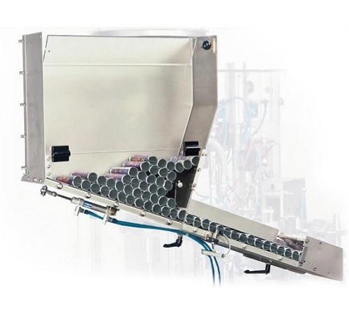 Система подачи туб для мелкосерийного производства