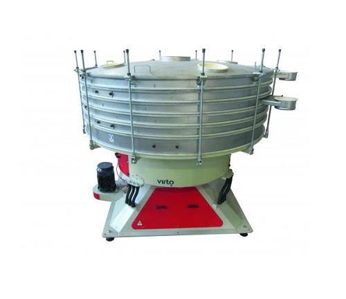 Барабанное вибрационное сито для сортировки и обеспыливания гранулированных материалов