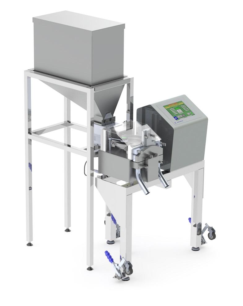 Универсальная машина для сортировки таблеток и капсул с разделением по массе