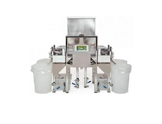 Высокопроизводительная машина для сортировки таблеток и капсул с разделением по массе