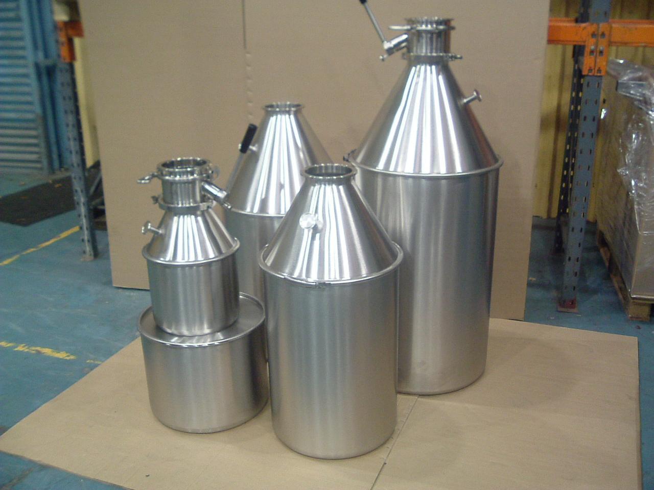 Емкости для транспортировки порошков в производстве