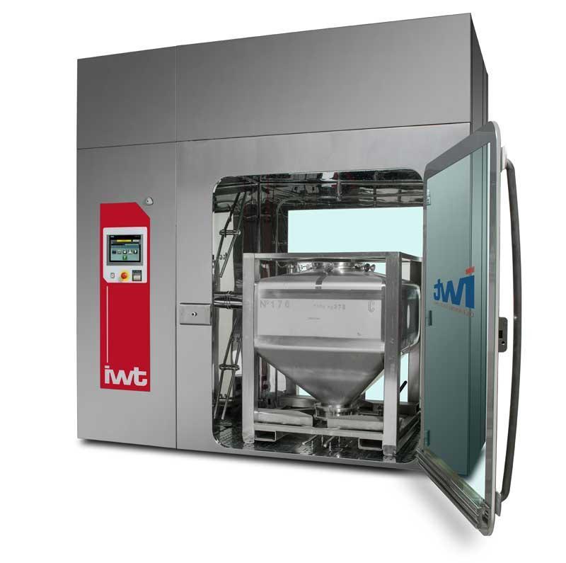 Машина мойки БИНов и форматных частей 2Clean от компании IWT