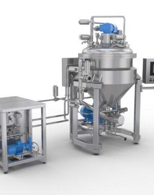 Вакуумный смеситель-гомогенизатор Azo Liquids для кремов и мазей