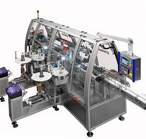 Этикетировочная машина Pharma ML-BFS Etima для BFS-контейнеров