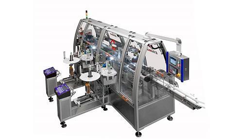 Этикетировочная машина для BFS-контейнеров