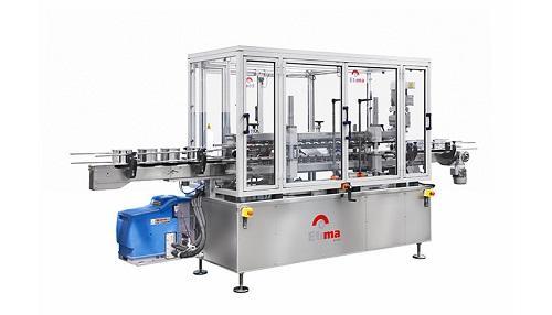 Линейная машина для нанесения этикеток оберточного типа