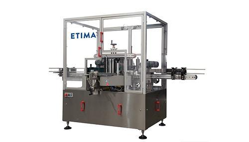 Линейная этикетировочная машина для бутылок MLP-3000 ETIMA
