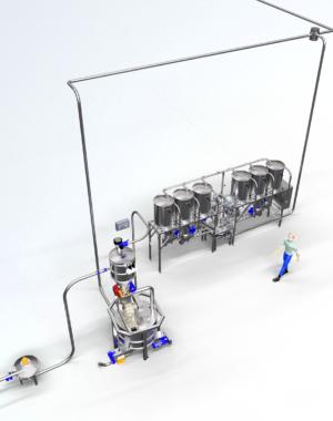 Системы хранения и дозирования порошкообразных продуктов Trimix от Cepi
