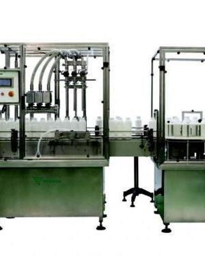 Автоматическая машина Dosimaq ECL 300 для розлива жидкостей
