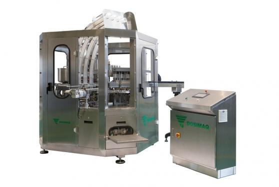 Автоматическая машина розлива и запайки для йогурта