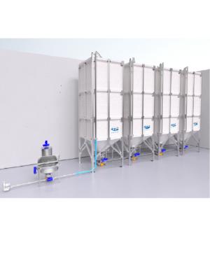 Системы хранения и транспортировки для сыпучих продуктов SilSystem Cepi