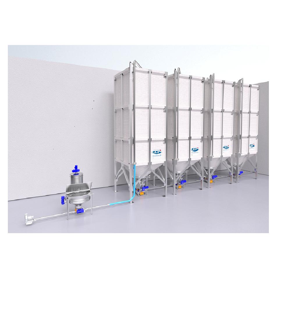 Системы хранения и транспортировки для сыпучих продуктов SilSystem от Cepi